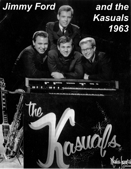 Jimmy Ford and the Kasuals 1963