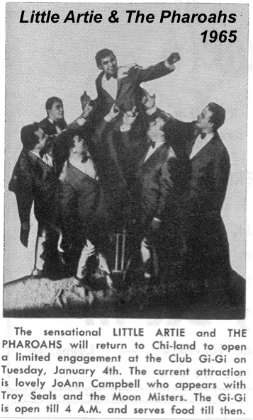 Little Artie and The Pharaohs 1965